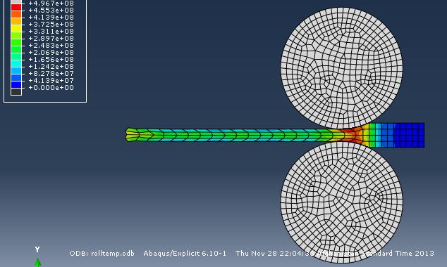 شبیه سازی نورد گرم الومنیوم به همراه فایل اموزش نحوه شبیه سازی