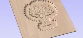 فایل سه بعدی طرح درخت