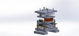 دانلود رایگان مدل سه بعدی قالب تیغه  آسیاب