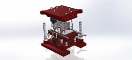 قالب برش / دانلود مدل سه بعدی قالب برش ابرویی solid works