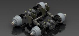 دانلود رایگان مدل سه بعدی سیستم تعلیق تک نقطه ای