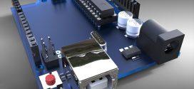 دانلود رایگان مدل سه بعدی برد الکترونیکی