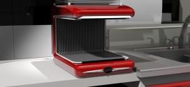 دانلود رایگان فایل سه بعدی دستگاه ظرف خشک کن