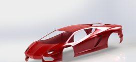 دانلود رایگان پوسته خودرو موهومی solidworks