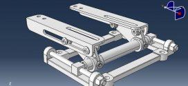 دانلود رایگان مدل سه بعدی مجموعه نگهدارنده موتور