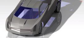 دانلود رایگان مدل سه بعدی خودرو اسپورت