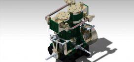 دانلود رایگان مدل سه بعدی موتور بخار