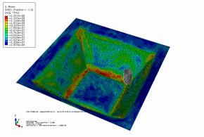 شبیه سازی شکل دهی تدریجی با نرم افزار آباکوس