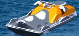 فایل سه بعدی مدل جت اسکی catia
