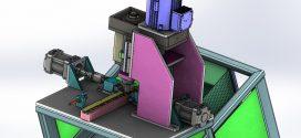 دانلود مدل سه بعدی دستگاه پخ زنی