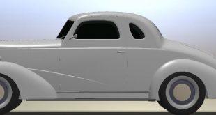 خودروی کلاسیک کوپه